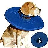 Tepaw Premium Halskrause für Hunde (Gr. 3) Made in EU   Kragen geeignet als Leckschutz und Schutzkragen   Patentierter Komfort und Schutz nach Operationen und Verletzungen   Halskragen aus Stoff