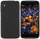 mumbi 13924 Hülle kompatibel mit BlackBerry DTEK50 Handy Case Handyhülle, schwarz