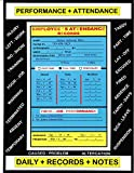 Employee's Attendance Records (Handy Dandy Booklets) (English Edition)