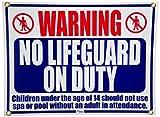Pentair r230500keine Lifegard On Duty Pool und Spa Schild