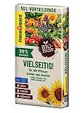 Floragard Bio-Erde Vielseitig 1x50 Liter - Universalerde für alle Pflanzen drinnen und draußen - torffrei und vegan
