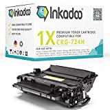 Inkadoo Toner kompatibel zu Canon i-SENSYS LBP-6780 x 3482B002 724H 3482B002 3482B002AA,1x Premium Drucker-Kartusche Alternativ, Schwarz, 12500 Seiten
