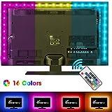 Vansky 2M LED TV Hintergrundbeleuchtung für HDTV / Gaming PC LED Streifen RGB Neon Akzent TV...