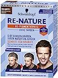 SCHWARZKOPF RE-NATURE Re-Pigmentierung ohne Färben, Männer Dunkel, 1er Pack (1 x 145 ml)