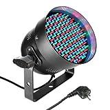 Cameo Light CLP56RGB05BS 151 x 5mm LED RGB PAR Scheinwerfer in schwarzem Gehäuse