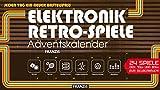 FRANZIS Elektronik-Retro-Spiele-Adventskalender 2018 | 24 Spiele der 70er und 80er zum Selberbauen |...