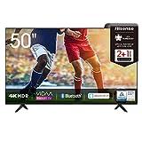 Hisense 50AE7000F 126cm (50 Zoll) Fernseher (4K Ultra HD, HDR, Triple Tuner DVB-C/ S/ S2/ T/ T2,...