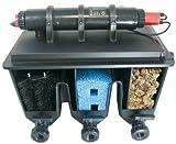 T.I.P Mehrkammer-Teichaußenfilter PTS 24000 UV, Schwarz, bis 24000 Liter