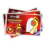 THERMOPAD Zehenwärmer, 5 Paar, 8 Stunden Wärme, extra dünn