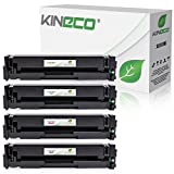 Kineco 4 Toner kompatibel mit Canon i-SENSYS LBP613Cdw MF-631 632 634 635 636 LBP-611 612 613-045H