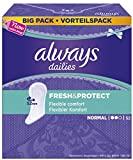 Always Fresh&Protect Slipeinlagen, Normal Vorteilspack, 5er Pack (5 x 56 Stück)