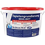 Tapetengrundierung Tapetengrund Tapeten Grund 10 Liter