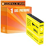 Gorilla-Ink 1x Tinten-Patrone XXL kompatibel mit Canon PGI-2500 Gelb Maxify IB 4000 Series 4050 IB 4150 MB 5000 Series 5050 5300 Series 5350