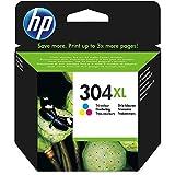 HP 304XL Farbe Original Druckerpatrone mit hoher Reichweite für HP DeskJet 2630, 3720, 3720, 3720,...