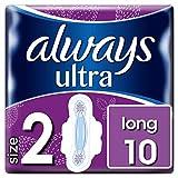 Always Ultra Long Binden (mit Flügeln) Größe:2, 3er Pack (3 x 10Stück)