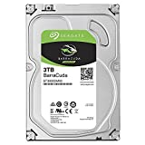 Seagate Barracuda ST3000DM007 Interne Festplatte fur Desktop PC, NAS (8,9 cm 3,5 Zoll, 256MB Cache,...
