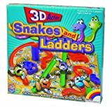New Entertainment 3D Snakes and Ladders by
