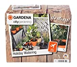 Gardena city gardening Urlaubsbewässerung: Pflanzenbewässerungs-Set für drinnen und draußen, individuelle Bewässerung von bis zu 36 Pflanzen (1265-20)