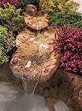 Bachlauf Wasserfall Gartenteich Bachlaufschalen Set, 135 x 50cm, Gr. S