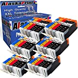 Alaskaprint 30x Druckerpatronen kompatibel mit Canon PGI-550XL 550 XL CLI-551XL 551 XL mit Pixma IP7250 IP-7250 MX925 MX-925 IX6850 IX-6850 MX725 MX-725 Patronen