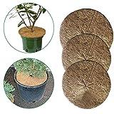 hook.s 10 STÜCKE Kokosnuss Mulch Abdeckung, Mulchscheibe Pflanze Abdeckung, Kokosmatte Für Gartenarbeit