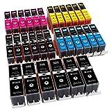 ESMOnline 30 komp. Tintenpatronen zu Canon PIXMA iP 4850 4950 iX 6550 MX 715 885 895 MG 5100 5200 5300 UVM