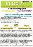 Sublimationspapier | Transferpapier für Textilien und Feststoffe, 100 Blatt DIN A3 120 g/m²