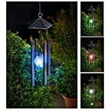 Solalite Farbwechsel Solar Powered Wind Chime Licht