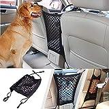 Auto-Hundenetz, universelle Barriere für Autositze, stoppt Haustiere und Kinder, mit Haken