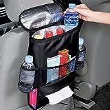 Liqiqi Auto-Rücksitz-Organizer, mehrere Taschen, Auto-Hängetasche, Reisetasche, Schutzhüllen für Autositze, Aufbewahrungstasche (Wärmeerhaltung) Standardgröße