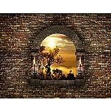 Vlies Fototapeten 'Tropical sunset' 352x250 cm - 9025011a RUNA Tapete