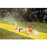Große Wasserrutsche Water Slide 6,10m XL WASSERRUTSCHE RUTSCHE SPRITZWASSERRUTSCHE Aus zahllosen Düsen spritzen Wasserstrahlen