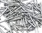 100x Stahlnägel Nägel Geriffelt Gerillt Gehärtet Betonnägel 2.7 x 30