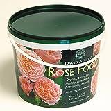 Rosen-Dünger David Austin'Rose Food' - 2,25 kg Organisch-mineralisch mit Langzeit-Wirkung für gesunde, kräftige Rosen - von Garten Schlüter