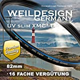 weildesign Germany Filter UV slim 82mm XMC Digital Weil Design Germany - SYOOP - * Objektivschutz *...