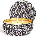 McNory Citronella Kerze Duftkerzen in Dose,425g Kerze 100% Sojawachs Outdoor Indoor,Citronella Kerzen für Garten