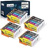 OfficeWorld 550XL 551XL Ersatz für Canon PGI-550 CLI-551 Druckerpatrone, Kompatibel mit Canon PIXMA IP7250 IP8750 MX925 MG5650 IX6850 MX725 MG5550 MG6350 MG6450 MX920, 20er-Pack
