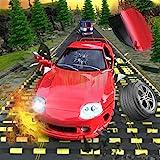 Crazy Speed Bumps Car Crashing Simulator - Beam NG