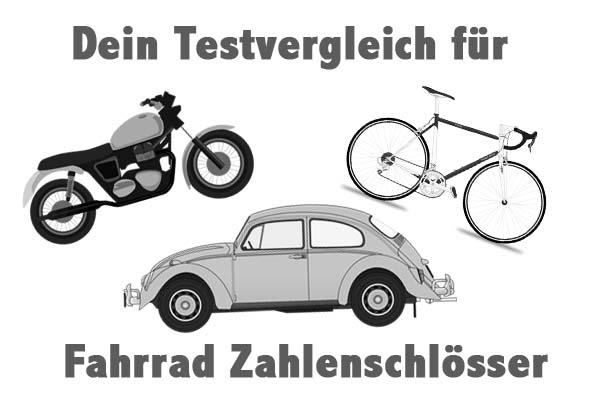 Fahrrad Zahlenschlösser