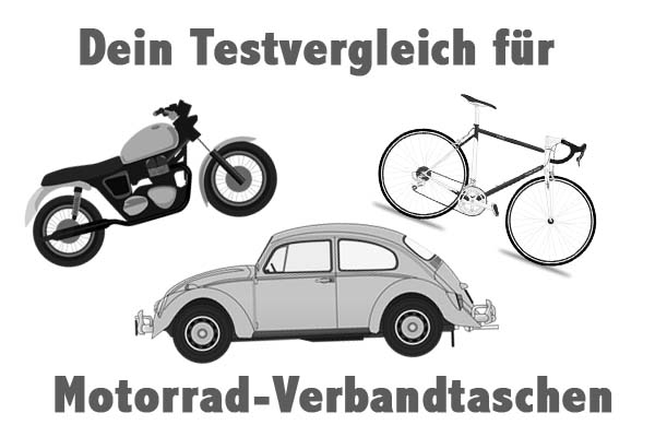 Motorrad-Verbandtaschen