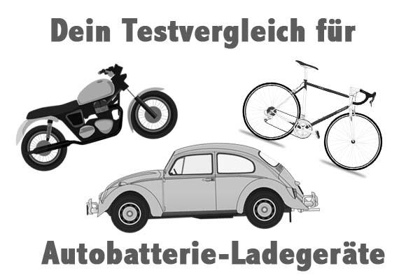 Autobatterie-Ladegeräte