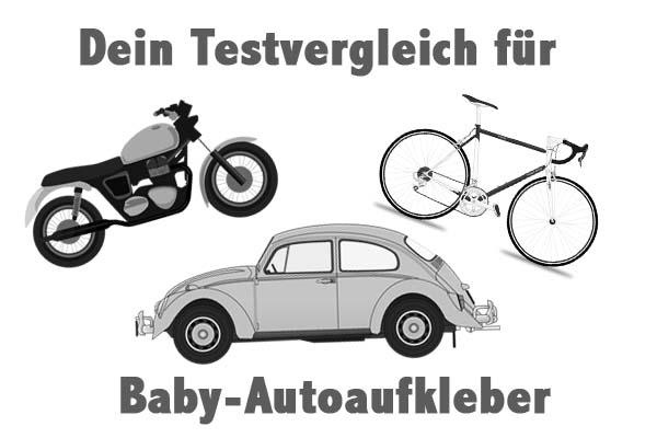 Baby-Autoaufkleber
