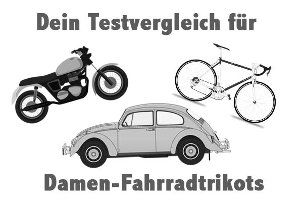 Damen-Fahrradtrikots