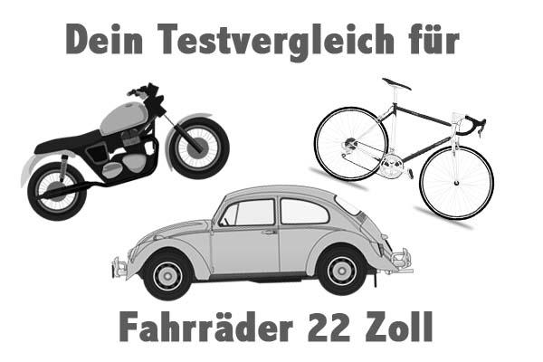Fahrräder 22 Zoll