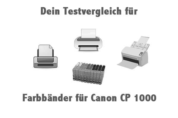 Farbbänder für Canon CP 1000