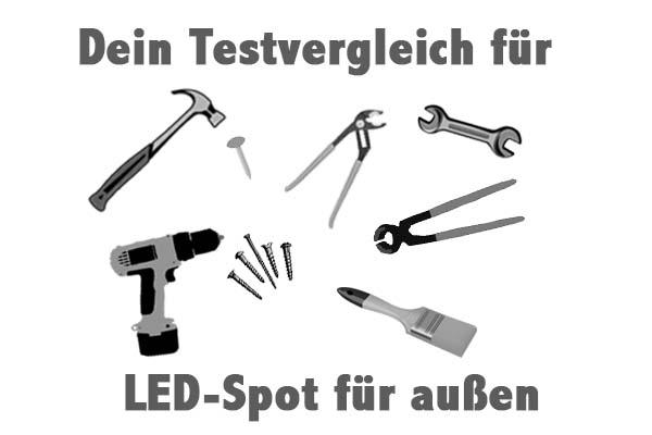 LED-Spot für außen