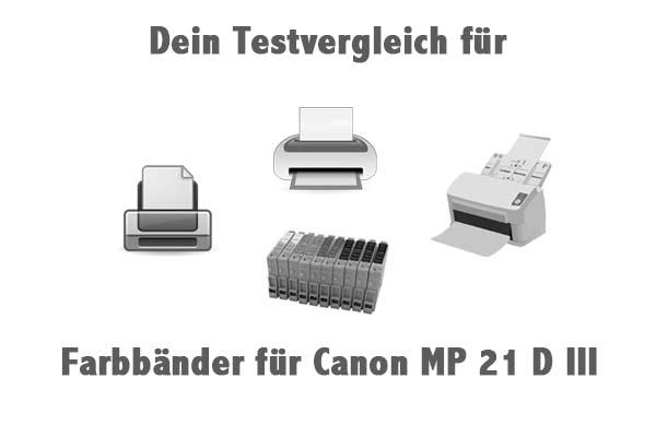 Farbbänder für Canon MP 21 D III