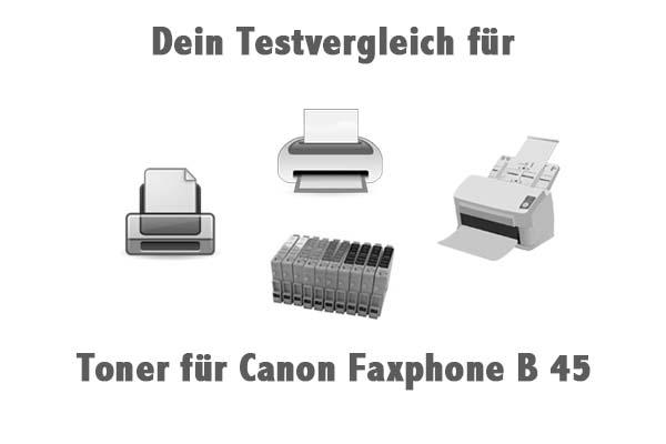 Toner für Canon Faxphone B 45
