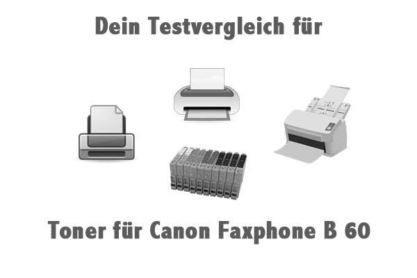 Toner für Canon Faxphone B 60