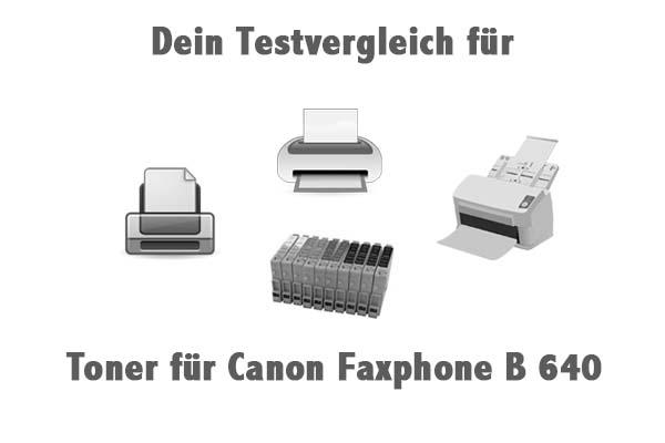 Toner für Canon Faxphone B 640